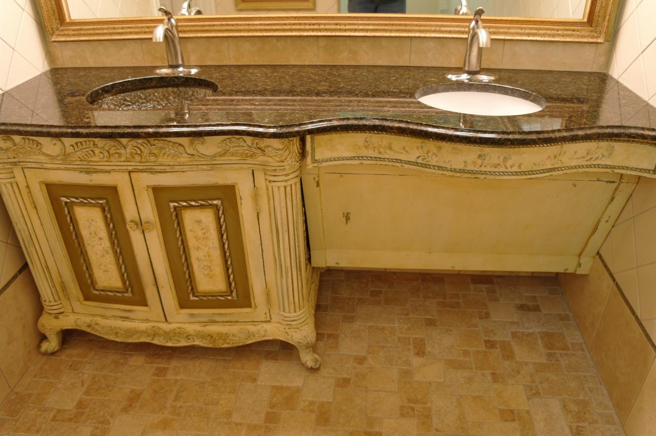 Wheelchair Kitchen And Bathroom Cabinets Accessible